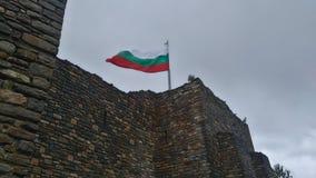 βουλγαρική σημαία Στοκ Φωτογραφίες