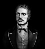 Βουλγαρικός εθνικός ήρωας Vasil Levski 1837-1873 Στοκ Εικόνες