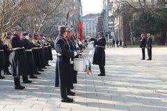Βουλγαρικό σύνταγμα φρουράς Στοκ Φωτογραφίες