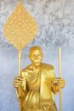 βουδιστικά αγάλματα μον&a Στοκ εικόνα με δικαίωμα ελεύθερης χρήσης