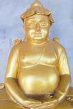 βουδιστικά αγάλματα μον&a Στοκ εικόνες με δικαίωμα ελεύθερης χρήσης