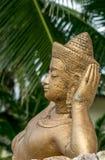 Βουδιστικά αγάλματα σε Lamai Στοκ Εικόνα