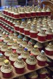 βουδιστικά κεριά Στοκ Εικόνα