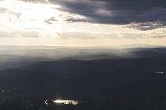 Βουδιστικές επιγραφές Βουνά Στοκ εικόνα με δικαίωμα ελεύθερης χρήσης
