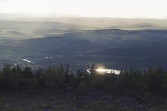 Βουδιστικές επιγραφές Βουνά Στοκ φωτογραφίες με δικαίωμα ελεύθερης χρήσης