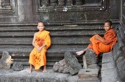 βουδιστικές νεολαίες &m Στοκ φωτογραφία με δικαίωμα ελεύθερης χρήσης