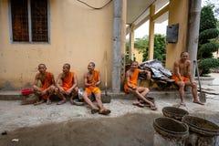 βουδιστικές νεολαίες &m Στοκ εικόνες με δικαίωμα ελεύθερης χρήσης