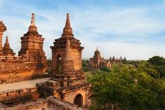 Βουδιστικές παγόδες σε Bagan Στοκ φωτογραφία με δικαίωμα ελεύθερης χρήσης