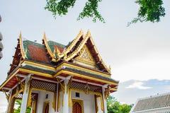 Βουδιστική αρχιτεκτονική περίπτερων στην Ταϊλάνδη στοκ εικόνα