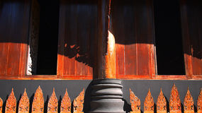 Βουδιστική αρχιτεκτονική Στοκ φωτογραφία με δικαίωμα ελεύθερης χρήσης