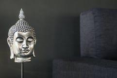 Βουδιστική λεπτομέρεια σχεδίου εικόνας εσωτερική στο σύγχρονο μοντέρνο contempo στοκ εικόνες