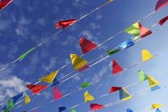 Βουδιστική θρησκευτική σημαία Στοκ εικόνες με δικαίωμα ελεύθερης χρήσης