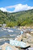 Βουδιστική κοιλάδα ποταμών Scripture στοκ εικόνες με δικαίωμα ελεύθερης χρήσης