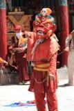 Βουδιστική μάσκα χορευτής-2 Στοκ φωτογραφία με δικαίωμα ελεύθερης χρήσης
