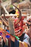 Βουδιστική μάσκα χορευτής-1 Στοκ Φωτογραφίες