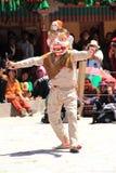 Βουδιστική μάσκα χορευτής-3 Στοκ φωτογραφίες με δικαίωμα ελεύθερης χρήσης