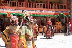 Βουδιστική μάσκα χορευτής-6 Στοκ φωτογραφίες με δικαίωμα ελεύθερης χρήσης