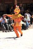 Βουδιστική μάσκα χορευτής-7 Στοκ Εικόνες
