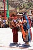 Βουδιστική μάσκα χορευτής-8 Στοκ φωτογραφία με δικαίωμα ελεύθερης χρήσης