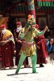 Βουδιστική μάσκα χορευτής-10 Στοκ φωτογραφία με δικαίωμα ελεύθερης χρήσης