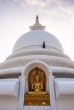 Βουδιστική παγόδα ειρήνης, Σρι Λάνκα Στοκ Εικόνες