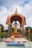 Βουδιστική παγόδα, μέρος του ναού σύνθετο Wat Plai Laem στο νησί Samui Στοκ Εικόνα