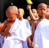 Βουδιστική παραχωρήσώντη ημέρα Στοκ Εικόνα