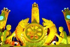 Βουδιστική παραχωρήσώντη ημέρα Στοκ εικόνα με δικαίωμα ελεύθερης χρήσης