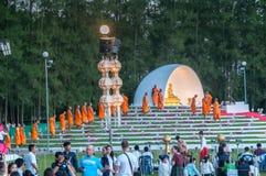 Βουδιστική τελετή μοναχών Στοκ εικόνα με δικαίωμα ελεύθερης χρήσης
