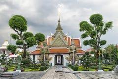 Βουδιστικοί λόγοι ναών Arun Μπανγκόκ Wat Στοκ Εικόνες