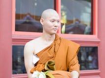 Βουδιστικού μοναχού Στοκ εικόνες με δικαίωμα ελεύθερης χρήσης