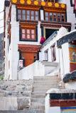 Βουδιστικός μοναχός από το μοναστήρι Diskit. Ινδία Στοκ Φωτογραφίες