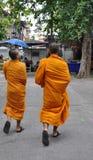 βουδιστικός μοναχός της Στοκ Φωτογραφίες