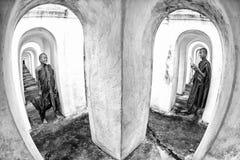 βουδιστικός μοναχός Στοκ Εικόνες