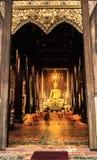Βουδιστικός μοναχός mai Chiang στοκ φωτογραφίες με δικαίωμα ελεύθερης χρήσης
