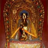 βουδιστικός ναός Άγαλμα του Βούδα --Ναός Yonghe, Πεκίνο, Κίνα Στοκ εικόνα με δικαίωμα ελεύθερης χρήσης