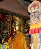 βουδιστικός ναός Άγαλμα του Βούδα --Ναός Yonghe, Πεκίνο, Κίνα Στοκ Εικόνες