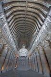 βουδιστικός ναός βράχου Στοκ Φωτογραφίες