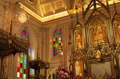 Βουδιστικός ναός η αρχιτεκτονική της εκκλησίας (Wat Niwet Thamma Στοκ εικόνες με δικαίωμα ελεύθερης χρήσης