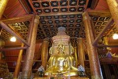 Βουδιστικός ναός και ναός, Wat Phu Mintr Στοκ Εικόνα