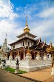 Βουδιστικός ναός σε Chiang Mai Ταϊλάνδη Στοκ φωτογραφίες με δικαίωμα ελεύθερης χρήσης