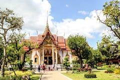 βουδιστικός ναός Ταϊλάνδη chalong wat Στοκ Εικόνες