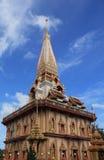 βουδιστικός ναός Ταϊλάνδη chalong wat Στοκ εικόνες με δικαίωμα ελεύθερης χρήσης