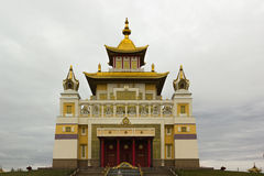Βουδιστικός ναός της Καλμουκίας Elista στοκ εικόνα