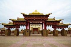 Βουδιστικός ναός της Καλμουκίας Elista στοκ φωτογραφίες
