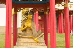 Βουδιστικός ναός της Καλμουκίας Elista στοκ φωτογραφία με δικαίωμα ελεύθερης χρήσης