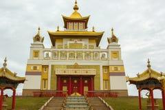 Βουδιστικός ναός της Καλμουκίας Elista στοκ φωτογραφίες με δικαίωμα ελεύθερης χρήσης