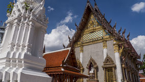 Βουδιστικός ναός της Μπανγκόκ Στοκ Φωτογραφία