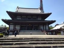 Βουδιστικός ναός Τόκιο Στοκ Φωτογραφία
