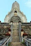 Βουδιστικός ναός Arun Wat, Μπανγκόκ, Ταϊλάνδη - λεπτομέρεια Στοκ φωτογραφίες με δικαίωμα ελεύθερης χρήσης